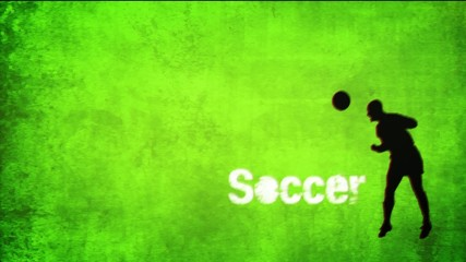 Soccer wall title