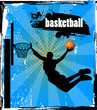 Vector Basketball Player - Easy change colors.