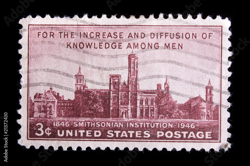 Vintage US commemorative postage stamp