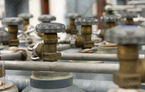 Valves of welding cylinders