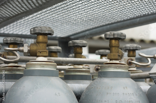Gas cylinders for welding