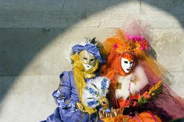 Due maschere di carnevale 2