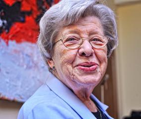 Senior Woman Laughing 6
