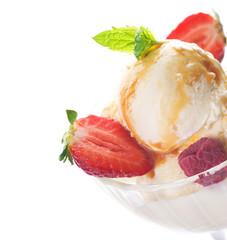 Ice Cream close-up