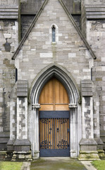 Saint Patrick Cathedral in Dublin