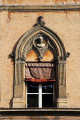 Mediterranean architecture of Bologna, Italy