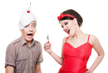 funny picture of couple