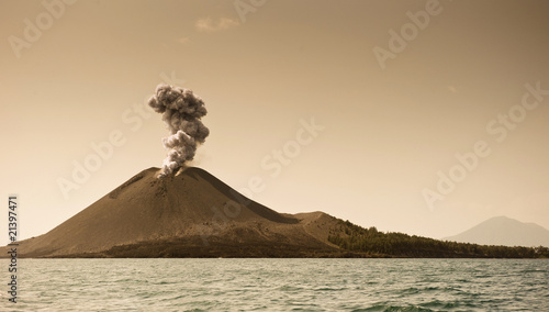 Leinwandbild Motiv The child of Krakatoa