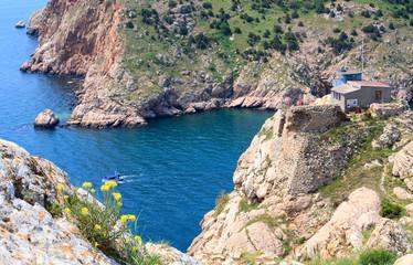 Summer coast view