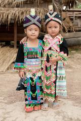 Mädchen von Laos Volksgruppe Hmong