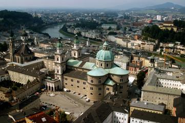 Panoramica di Salisburgo - Austria