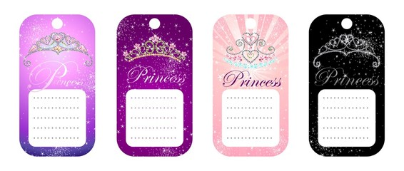 PRINCESS TAGS
