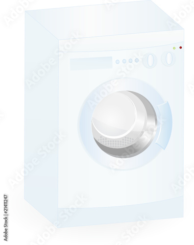 washing-mashine isolated on an white background