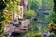 Leinwandbild Motiv Boote im Spreewald