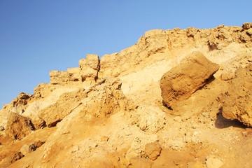 Holy ground Mount Sinai