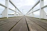 Wooden bridge in Helsinki - 21416423