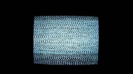 Television with noise 1