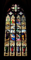 Glasfenster, Dom zu Köln
