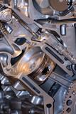Automotive engine poster