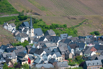 Little village in Germany