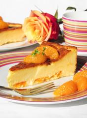Fruchtiger Quarkkuchen