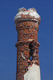 decaing chimney, Lesbos, Greece