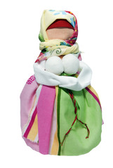 Traditional russian rag doll - the Woman