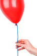 Woman's Hand Holding A Balloon