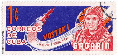 Gagarin Yuri - first human in space