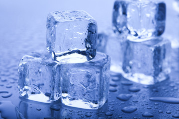 Crystals ice