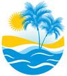 Tropical marine landscape