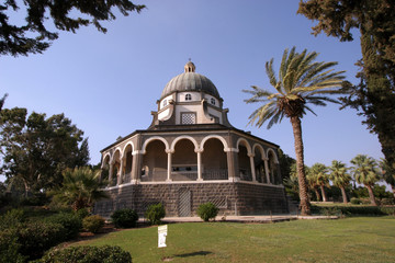 The Church Of The Beatitudes, Sea of Galilee