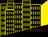Yellow Metropolis poster