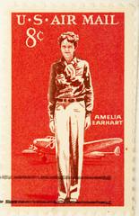 Amelia Earhart, circa 1963 .