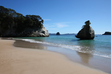 New Zealand - Cathedral Cove in Coromandel
