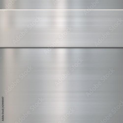 drobny metal szczotkowany