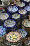 Turkey, Istanbul, Grand Bazaar, turkish ceramic plates poster