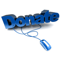 Blue Donate online