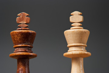 Dwa króle szachowe