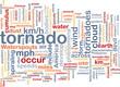 Tornado storm background concept