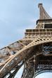 Pieds de la Tour Eiffel à Paris