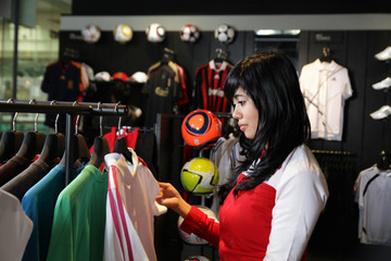 sport shopping