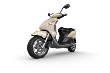 Scooter - perspective view