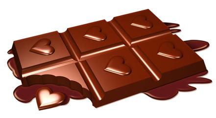 Cioccolato e Amore-Chocolate and Love-Amour et Chocolat