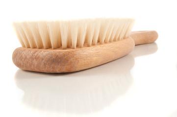 Body brush.