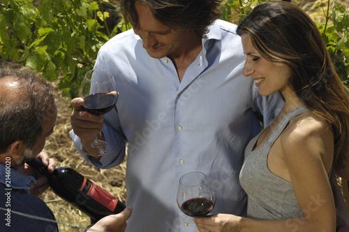 brindare tra le vigne