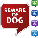Beware Dog poster