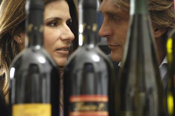 sguardi tra il vino
