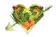 salat herz pfeil
