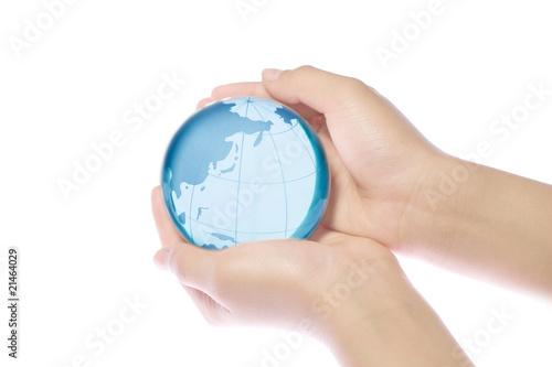 World in hands